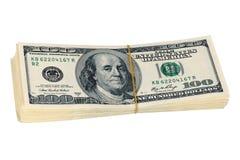 Manojo de dinero Imágenes de archivo libres de regalías