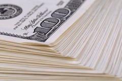 Manojo de dinero Imagen de archivo libre de regalías