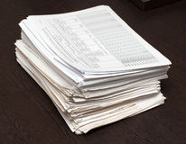 Manojo de documentos Fotografía de archivo libre de regalías