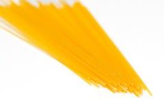 Manojo de espagueti fotografía de archivo