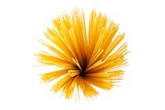 Manojo de espagueti fotografía de archivo libre de regalías