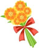 Manojo de flores stock de ilustración