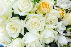 Manojo de fondo de las flores Imagen de archivo