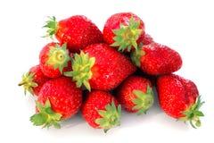 Manojo de fresas imagen de archivo libre de regalías