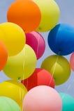 Manojo de globos Imagenes de archivo