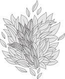 Manojo de hojas Fotografía de archivo libre de regalías