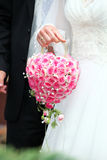 Manojo de la boda Imagen de archivo libre de regalías