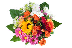 Manojo de la flor Fotos de archivo libres de regalías