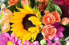 Manojo de la flor Imágenes de archivo libres de regalías