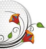 Manojo de la flor del vector Foto de archivo libre de regalías