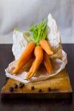 Manojo de la zanahoria Imagen de archivo