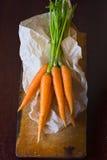 Manojo de la zanahoria Fotografía de archivo