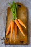 Manojo de la zanahoria Imagenes de archivo
