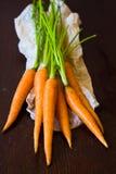 Manojo de la zanahoria Foto de archivo libre de regalías
