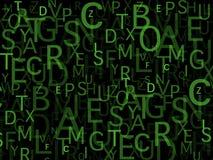 Manojo de letras imagen de archivo