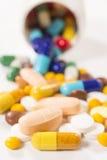 Manojo de píldoras Imagenes de archivo