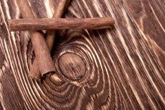 Manojo de palillos de canela Imagen de archivo libre de regalías