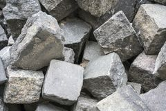 Manojo de piedras del adoquín Fotografía de archivo libre de regalías