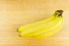 Manojo de plátano maduro Imagen de archivo
