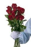 Manojo de rosas Imagen de archivo libre de regalías