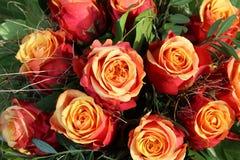 Manojo de rosas del brandy de la cereza Fotos de archivo libres de regalías