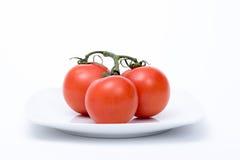 Manojo de tomates Fotografía de archivo libre de regalías