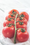Manojo de tomates frescos Imagen de archivo