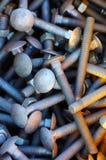 Manojo de tornillos Fotografía de archivo libre de regalías