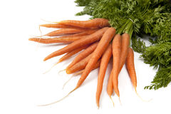 Manojo de zanahorias Fotos de archivo