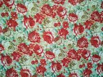 Manojo del modelo de las rosas de flores, repitiendo la impresi?n para la tela stock de ilustración