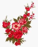 Manojo floral Imagen de archivo libre de regalías