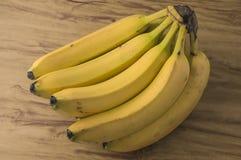 Manojo natural fresco del plátano Imagen de archivo