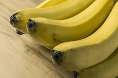 Manojo natural fresco del plátano Fotografía de archivo