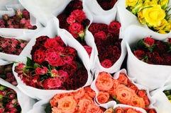 Manojos de rosas Fotos de archivo
