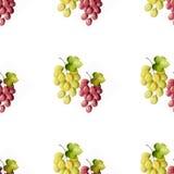 Manojos de uvas ilustración del vector