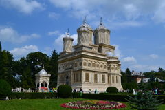 Manole Monastery Stock Image