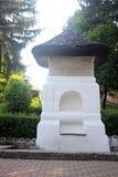 Manole ` s喷泉在Curtea de Arges,罗马尼亚 图库摄影