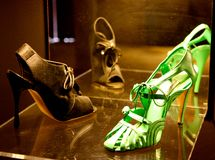 Manolo Blahnik's shoes  Stock Photography