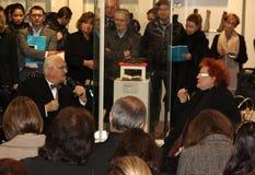 Manolo Blahnik in Vigevano, Italia Fotografia Stock Libera da Diritti