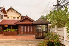 Manoluck-Hotel in Luang Prabang, Laos Lizenzfreie Stockbilder
