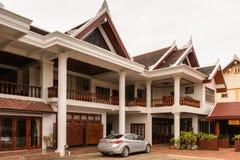 Manoluck-Hotel in Luang Prabang, Laos Lizenzfreies Stockbild