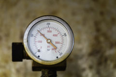 Manomètre de deux pressions Photo stock