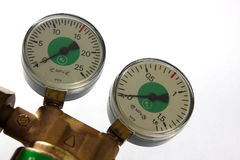 Manometer Royalty Free Stock Photos