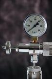 Manometer stock afbeelding