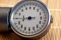 manometer Royaltyfria Foton