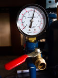 Manometer Stockfoto