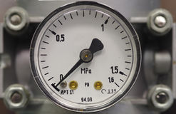 manometer Fotografia de Stock