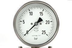 Manometer Stock Foto
