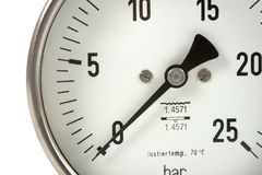 manometer Royaltyfri Bild