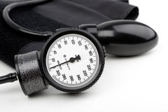 Manometer for blood pressure isolated Stock Photos